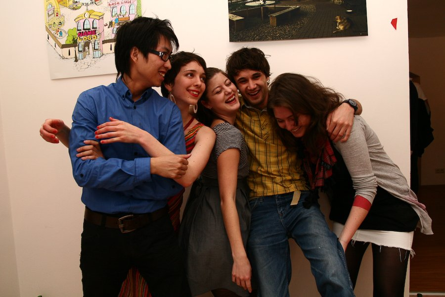 Photos from the opening of the Graphic Design exhibition!