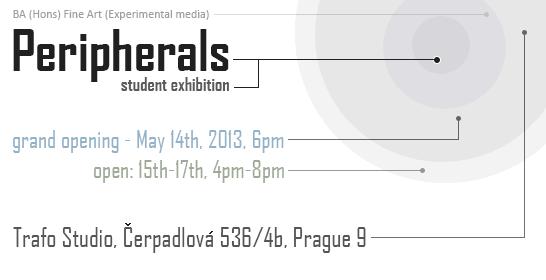'Peripherals' BA Experimental Media show