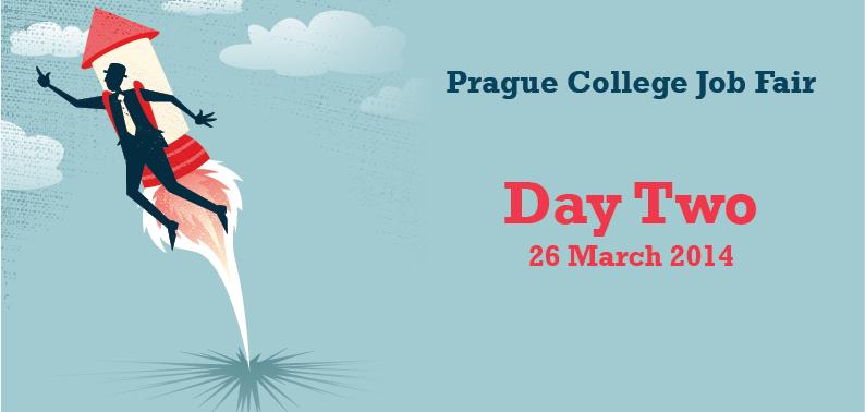 Prague College Job Fair 2014: Day Two