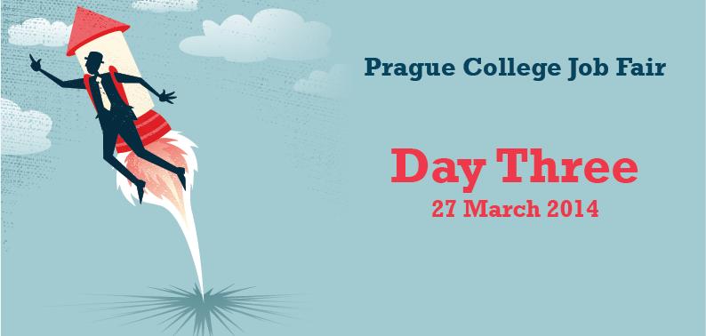 Prague College Job Fair 2014: Day Three
