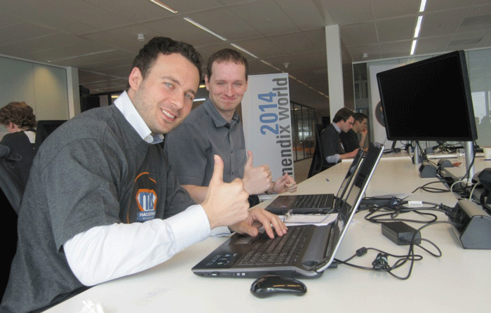 MSc Computing students complete project at Mendix World