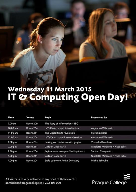Special IT & Computing Open Day