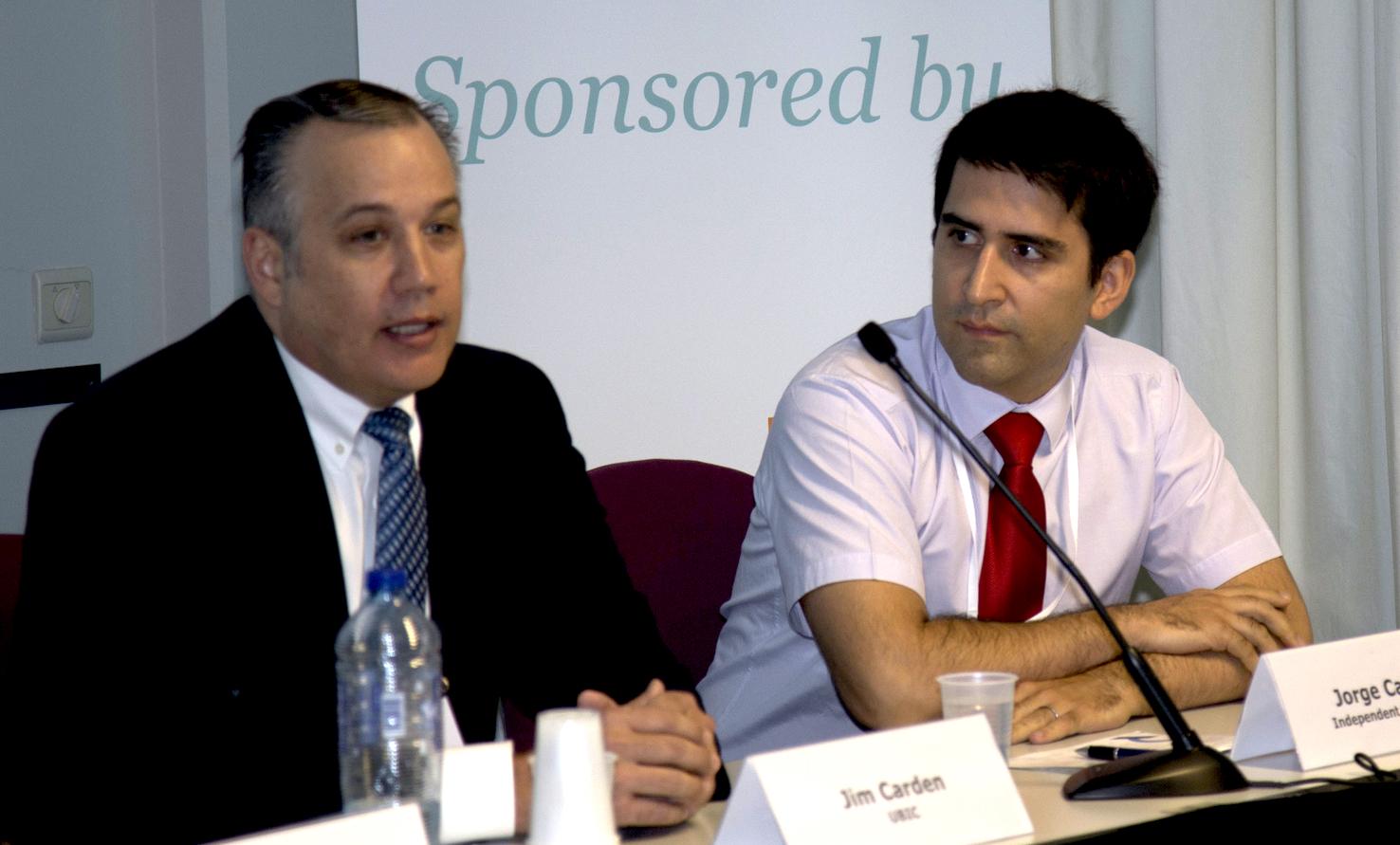 Prague College IT lecturer speaks at LawTech conference