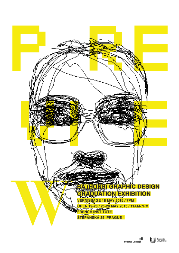 BA (Hons) Graphic Design final show 2015