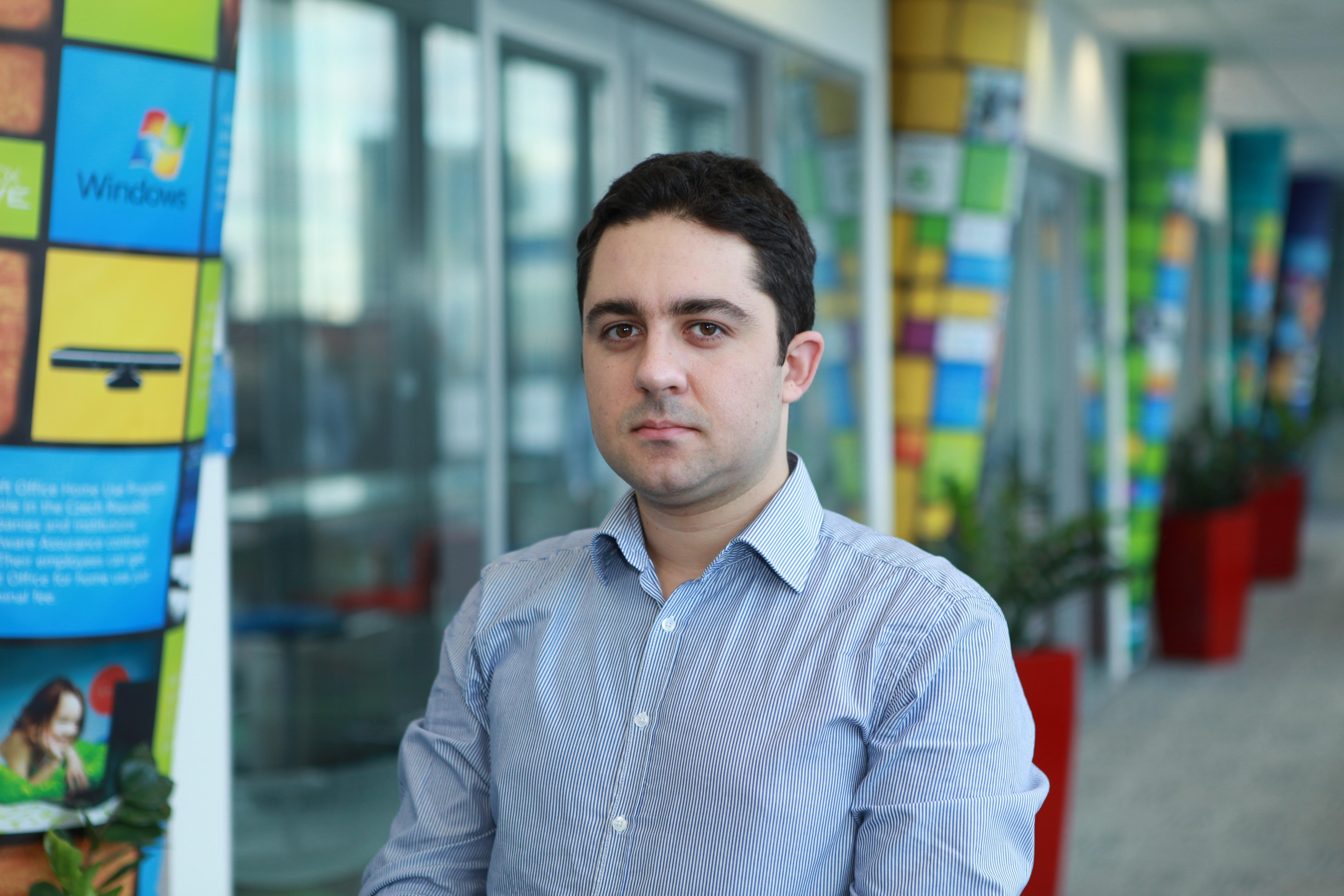 Microsoft honours Prague College student