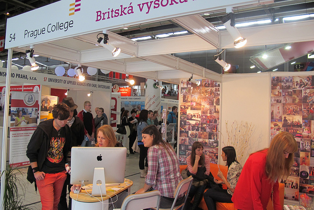 Prague College is at Gaudeamus Praha stand 38