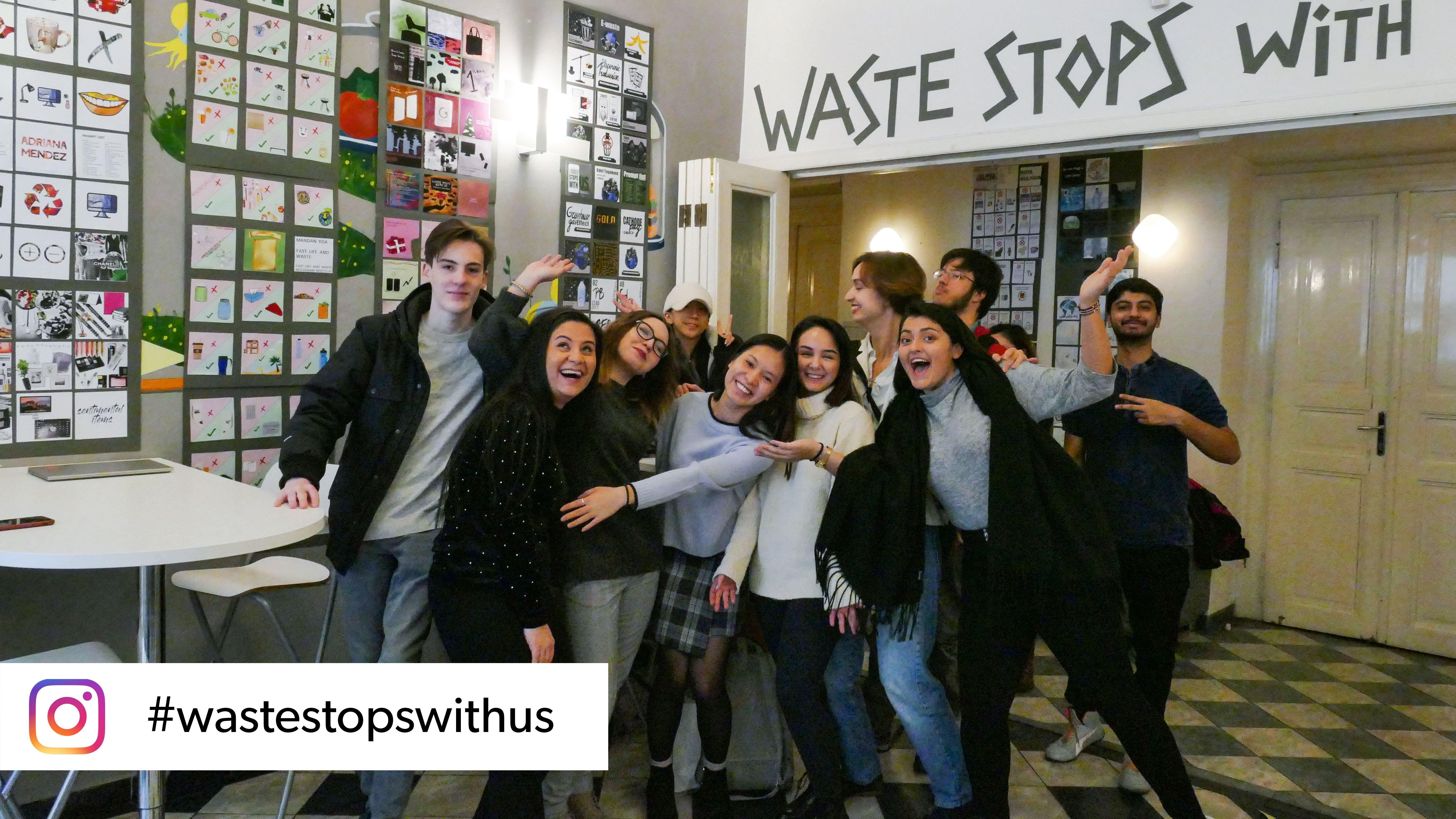 #wastestopswithus