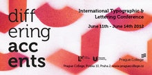 Differing Accents Conference (2012)