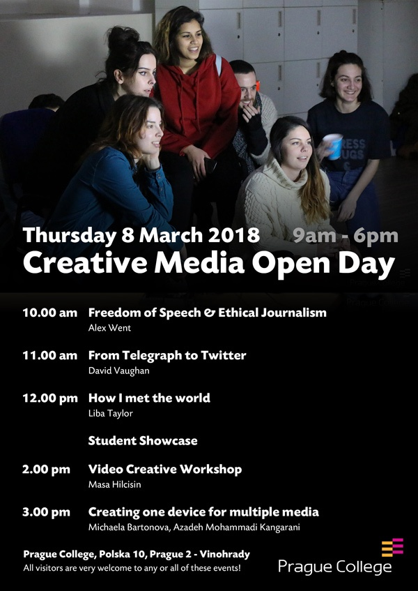 Creative Media Open Day