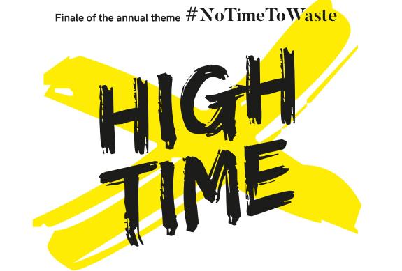 #NoTimeToWaste:High Time