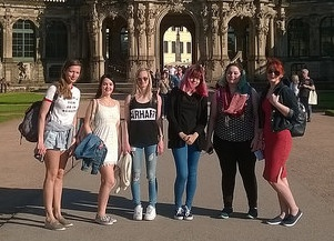 Graphic Design students' art trip to Dresden