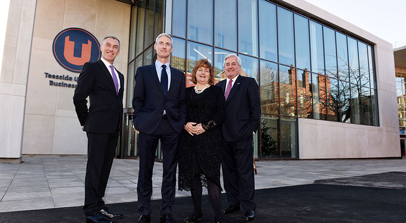 Teesside University Launches new Business School with International Vision