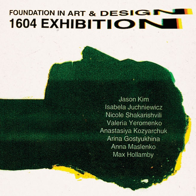 Foundation in Art & Design 2017 exhibition