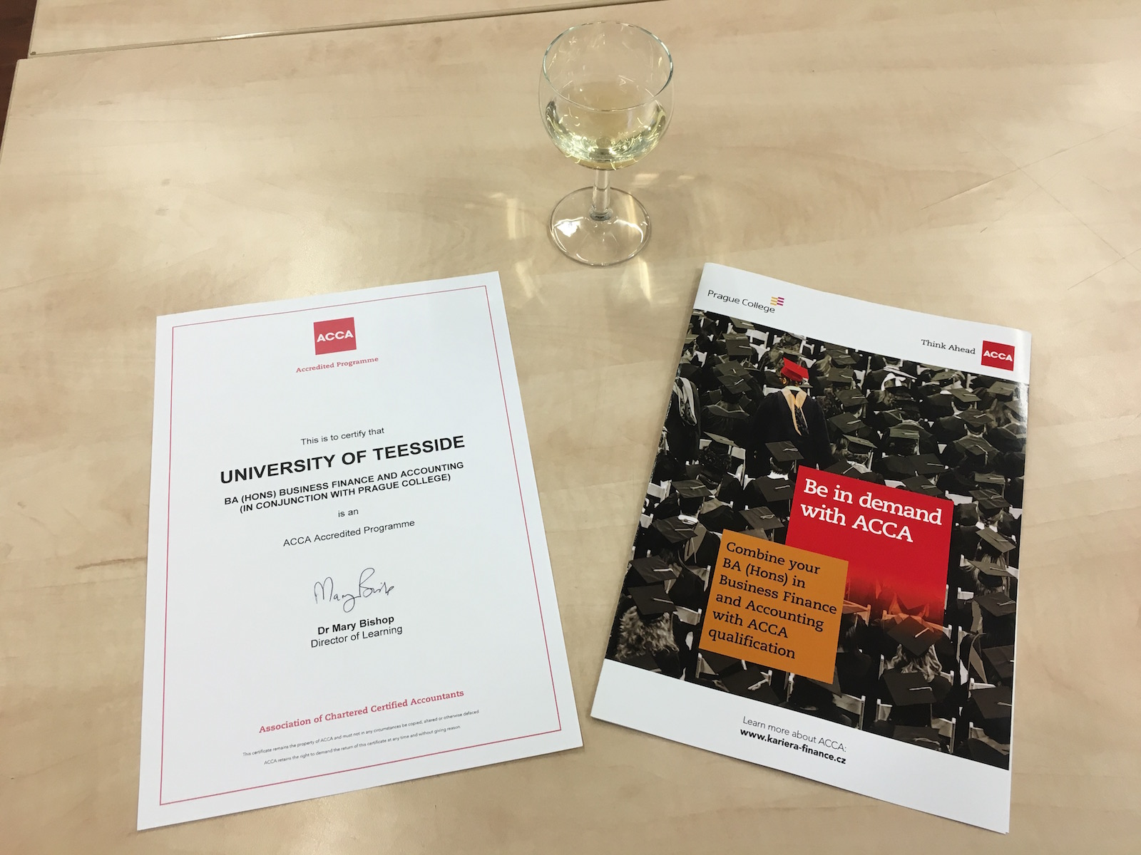 ACCA accreditation makes Prague College a top choice for finance and accounting