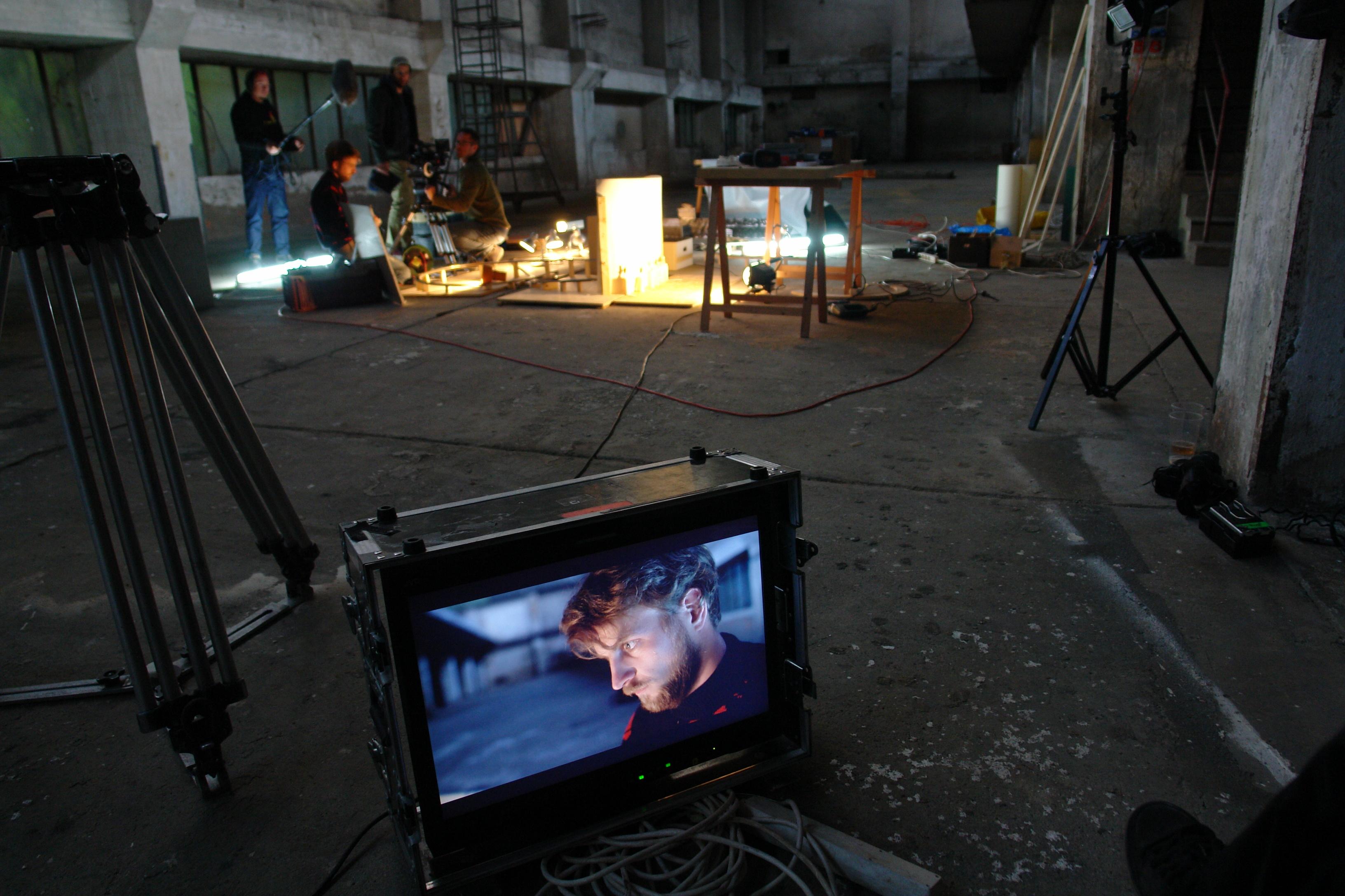Visiting artist Tomas Svoboda: 'Like in a Movie'
