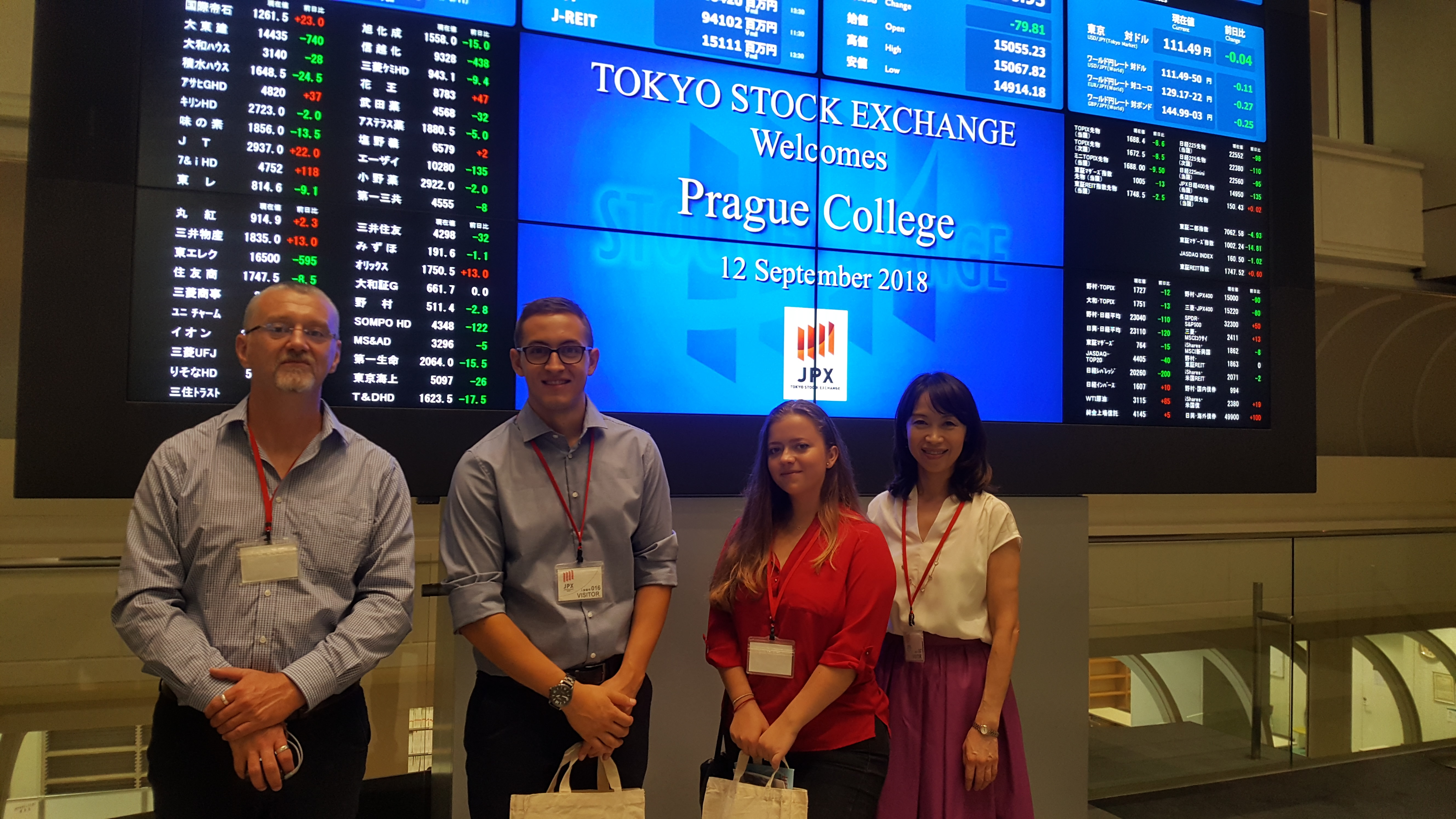 School of Business visit to Japan