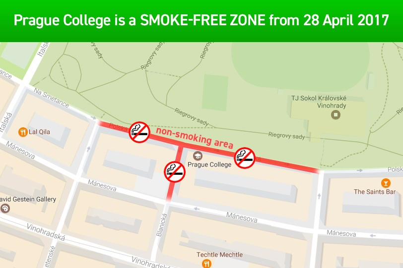 College goes smoke-free
