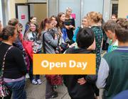 Our next Open Day is on 13 January; find out more about enrolling for February!