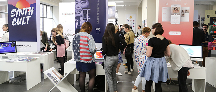 Acclaimed student exhibitions and events...