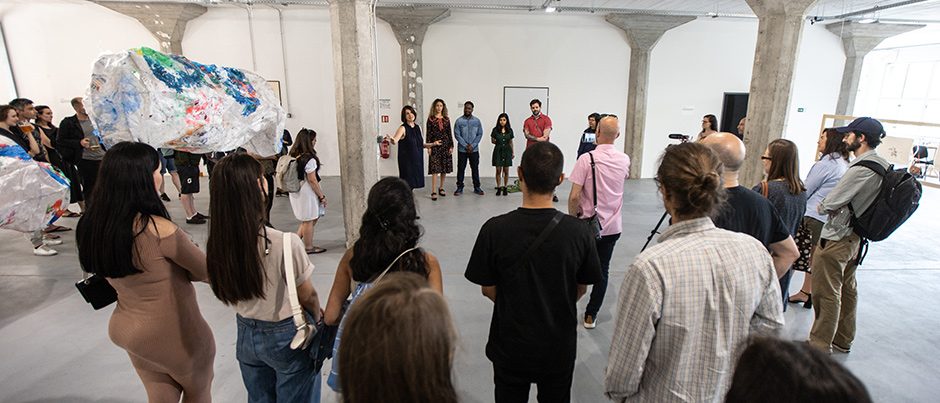 Acclaimed student exhibitions and inspiring events