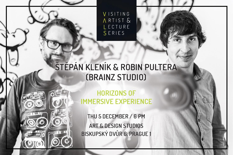 Visiting Artist Lecture: Štěpán Kleník & Robin Pultera: Horizons of Immersive Experience