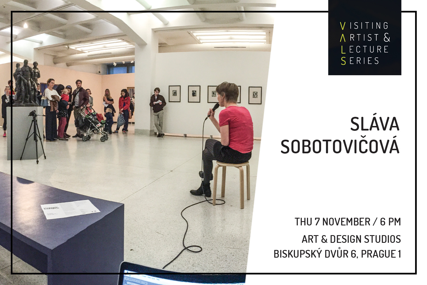 Visiting Artist: Sláva Sobotovičová -  The Other Voice
