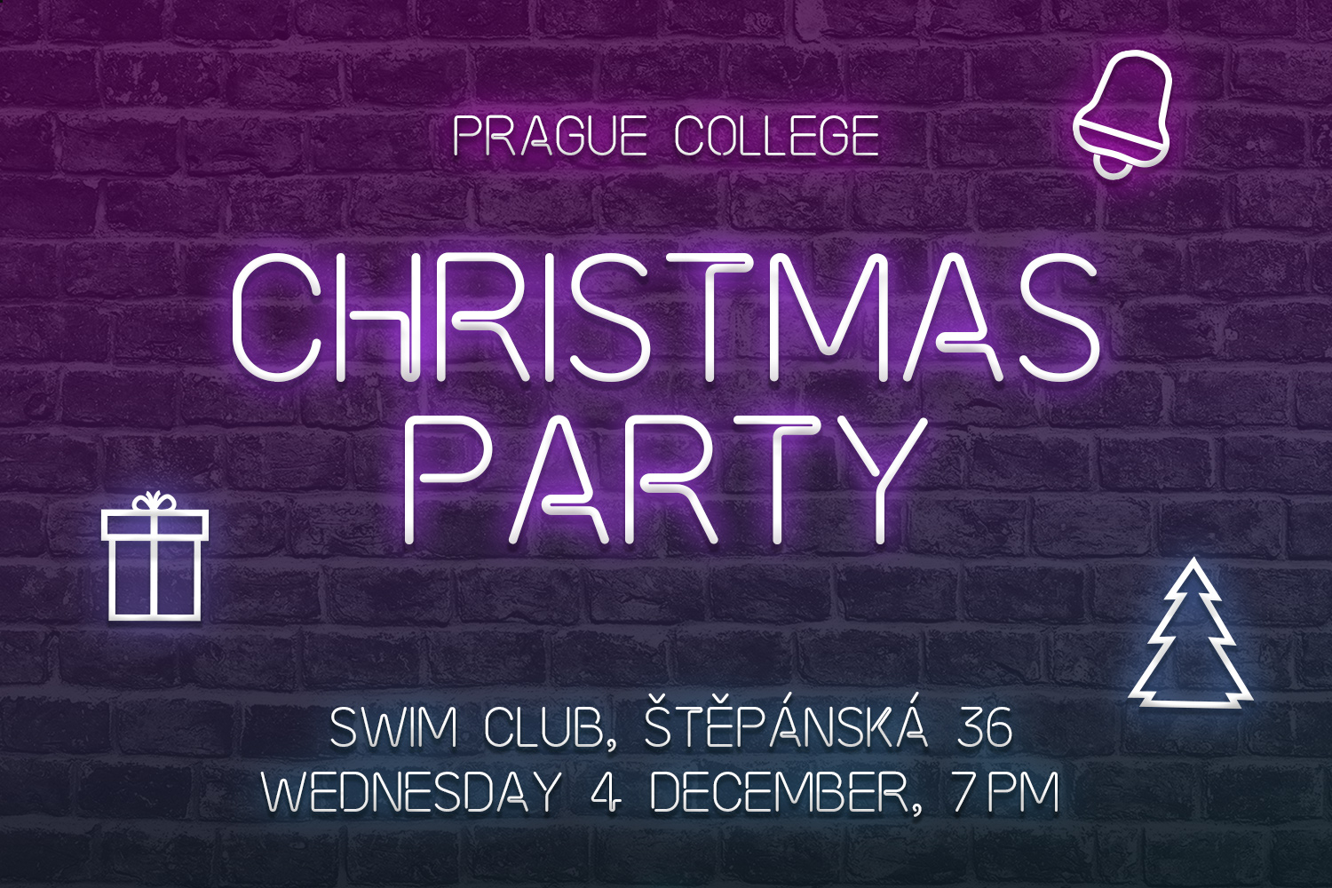 Prague College Christmas Party 2019
